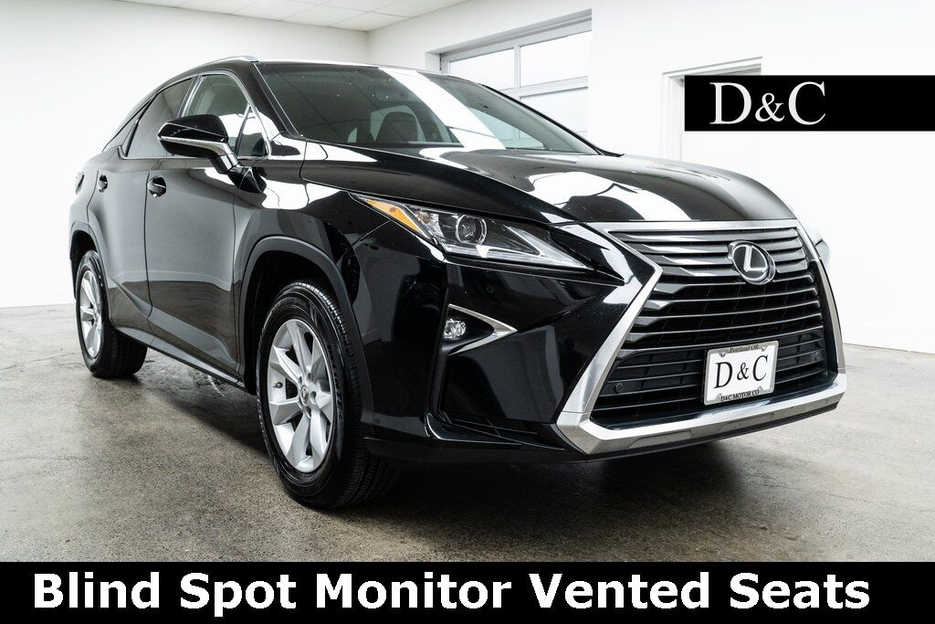 2016 Lexus RX 350 Blind Spot Monitor Vented Seats Portland OR