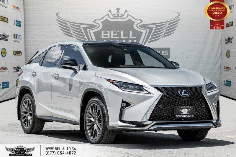 2016 Lexus RX 350 F-SPORT, NO ACCIDENT, AWD, NAVI, REAR CAM, LANE DEP