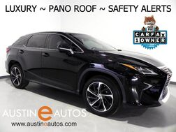 2016_Lexus_RX 350_*LUXURY PKG, PANORAMA MOONROOF, HEADS-UP DISPLAY, NAVIGATION, MARK LEVINSON, COLLISION & LANE DEPARTURE ALERT, BLIND SPOT ALERT, PANO-VIEW MONITOR_ Round Rock TX