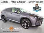 2016 Lexus RX 350 *LUXURY PKG, PANORAMA MOONROOF, HEADS-UP DISPLAY, NAVIGATION, MARK LEVINSON, COLLISION & LANE DEPARTURE ALERT, BLIND SPOT ALERT, PANO-VIEW MONITOR