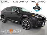 2016 Lexus RX 350 *LUXURY PKG, PANORAMA MOONROOF, HEADS-UP DISPLAY, NAVIGATION, SAFETY ALERTS, SURROUND VIEW CAMERAS, MARK LEVINSON, CLIMATE SEATS, SEMI-ANILINE LEATHER, LED HEADLAMPS