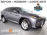 2016 Lexus RX 350 *NAVIGATION, BLIND SPOT ALERT, BACKUP-CAMERA, MOONROOF, LEATHER, CLIMATE SEATS, HEATED STEERING WHEEL, POWER LIFTGATE, BLUETOOTH