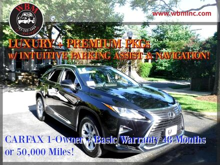 2016_Lexus_RX 350_w/ Luxury Package_ Arlington VA