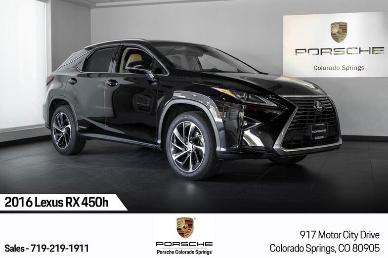 2016 Lexus RX 450h  Colorado Springs CO