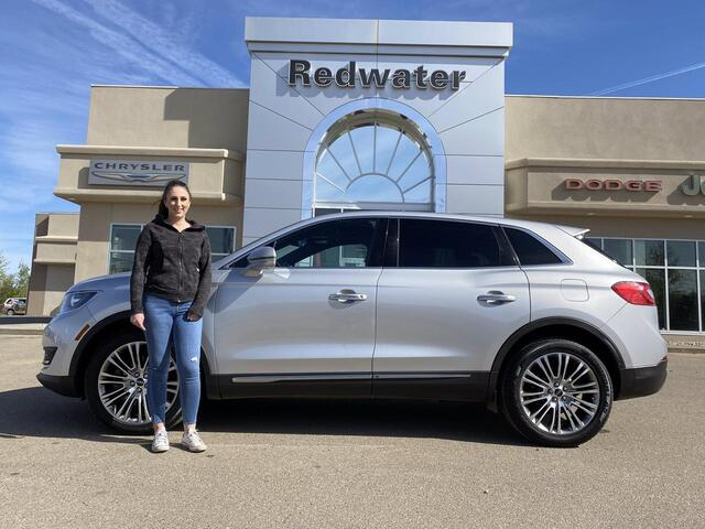2016 Lincoln MKX - AWD - Luxury SUV - Leather - Full Pano Sunroof Redwater AB