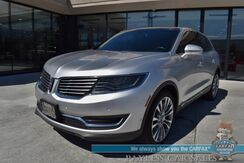 2016_Lincoln_MKX_Reserve / AWD / Luxury Pkg / Tech Pkg / Driver Assist Pkg / Climate Pkg / Auto Start / Heated Leather Seats & Steering Wheel / Panoramic Sunroof / Navigation / Revel Ultima Speakers / Adaptive Cruise / Blind Spot Alert_ Anchorage AK