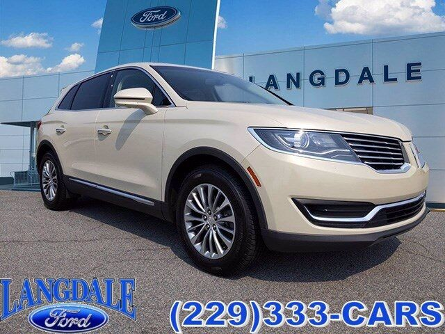 2016 Lincoln MKX Select Valdosta GA