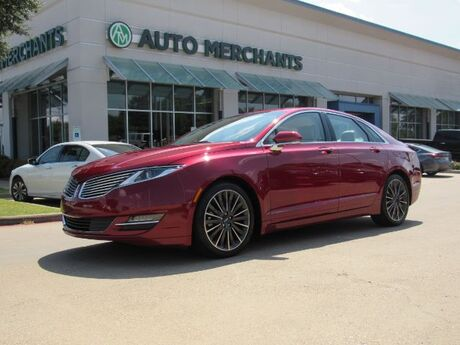 2016 Lincoln MKZ AWD LEATHER, SUNROOF, NAVIGATION, BACKUP CAMERA, BLIND SPOT, BLUETOOTH, CLD/HTD FRONT STS Plano TX