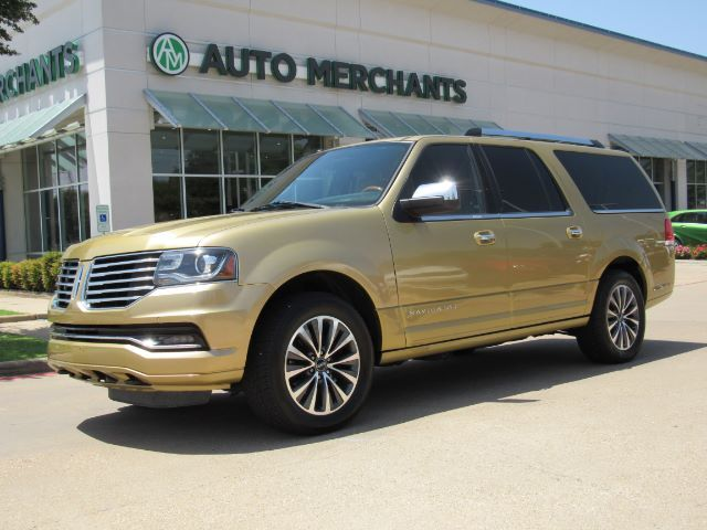 2016 Lincoln Navigator L Select 4WD NAV, BLIND SPOT, HTD/COOLED STS, SUNROOF, PWR LIFT, CAPT CHAIR, BLUETOOTH, BACKUP CAM Plano TX