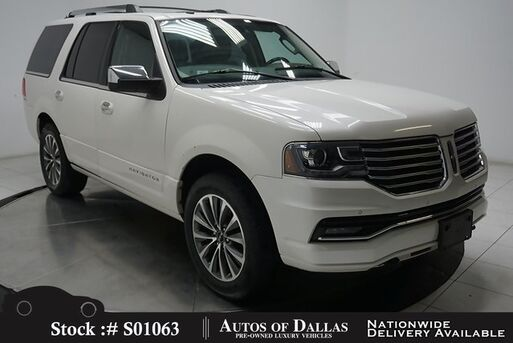 2016_Lincoln_Navigator_Select NAV,CAM,SUNROOF,CLMT STS,BLIND SPOT,3RD ROW_ Plano TX