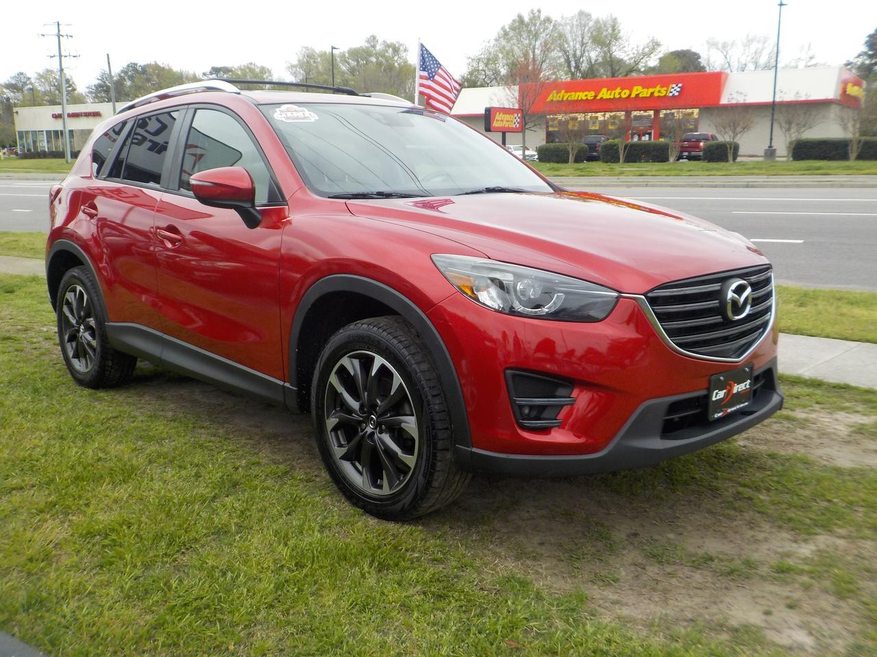 2016 MAZDA CX-5 GRAND TOURING, WARRANTY, NAVIGATION, SUNROOF, ROOF RACKS, BACKUP CAMERA, BOSE SOUND SYSTEM, AUX PORT Virginia Beach VA
