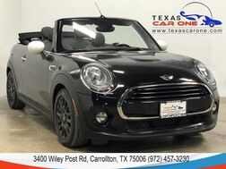 2016_MINI_Cooper Convertible_AUTOMATIC SPORT SEATS REAR CAMERA REAR PARKING DISTANCE CONTROL_ Carrollton TX