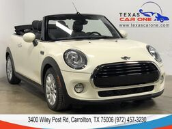 2016_MINI_Cooper Convertible_PREMIUM PKG HARMAN KARDON SOUND LEATHER HEATED SEATS BLUETOOTH_ Carrollton TX