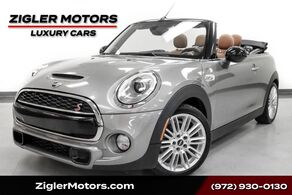 MINI Cooper Convertible Twinpower Turbo S 4Kmi Rare 6-Speed Manual FULLY LOADED OPTION PACKAGE 2016