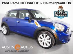 2016_MINI_Cooper Countryman_*PANORAMA MOONROOF, VISUAL BOOST, HARMAN/KARDON, HEATED SEATS, PARK DISTANCE CONTROL, COMFORT ACCESS, BLUETOOTH PHONE & AUDIO_ Round Rock TX
