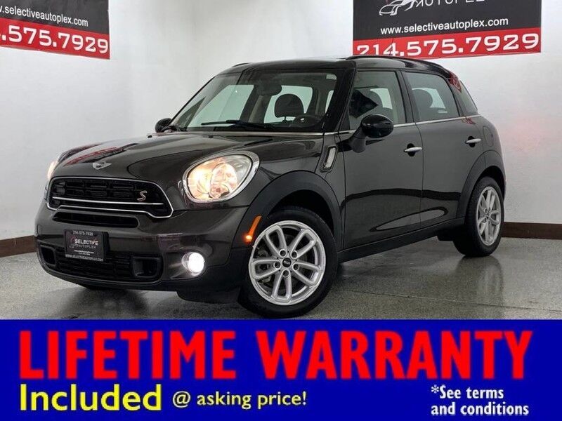 2016 MINI Cooper Countryman S FWD, LEATHER SEATS, HEATED FRONT SEATS, BLUETOOTH Carrollton TX
