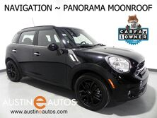 MINI Cooper Countryman S *NAVIGATION, PANORAMA MOONROOF, JCW STEERING WHEEL, HARMAN/KARDON, COMFORT ACCESS, BLACK ALLOY WHEELS, BLUETOOTH PHONE & AUDIO 2016