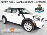 2016 MINI Cooper Countryman S *SPORT PKG, NAVIGATION, JCW INTERIOR PKG, PARK DISTANCE CONTROL, PANORAMA MOONROOF, LEATHER, HEATED SEATS, HARMAN/KARDON, COMFORT ACCESS