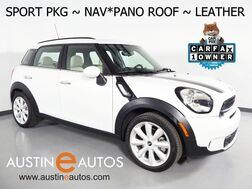 2016_MINI_Cooper Countryman S_*SPORT PKG, NAVIGATION, JCW INTERIOR PKG, PARK DISTANCE CONTROL, PANORAMA MOONROOF, LEATHER, HEATED SEATS, HARMAN/KARDON, COMFORT ACCESS_ Round Rock TX