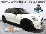 2016 MINI Cooper Hardtop 4 Door S *SPORT PKG, NAVIGATION, HEADS-UP DISPLAY, LOUNGE LEATHER, HEATED SEATS, HARMAN/KARDON, BLACK ALLOY WHEELS, BLUETOOTH PHONE & AUDIO