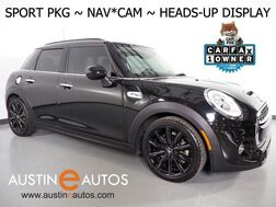 2016_MINI_Cooper Hardtop S 4 Dr_*SPORT PKG, NAVIGATION, HEADS-UP DISPLAY, BACKUP-CAMERA, PANORAMA MOONROOF, HARMAN/KARDON, HEATED SEATS, COMFORT ACCESS, BLACK ALLOYS, LED HEADLIGHTS_ Round Rock TX