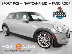 2016_MINI_Cooper Hardtop S_*NAVIGATION, SPORT PKG, HEADS-UP DISPLAY, BACKUP-CAMERA, JCW INTERIOR PKG, PANORAMA MOONROOF, HARMAN/KARDON, PUNCH LEATHER, HEATED SEATS_ Round Rock TX