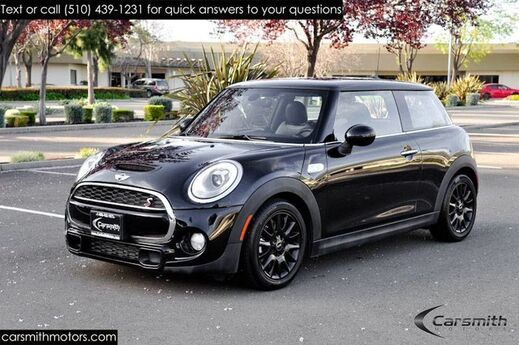 2016 MINI Cooper S with PanoRoof/ Navigation/ MSRP $33,450 Wired Package/16 Victory Black Spoke Wheels/Hamon Kardon Fremont CA