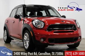 2016_MINI_Countryman_S ALL4 NAVIGATION HARMAN KARDON PANORAMA LEATHER HEATED SEATS BL_ Carrollton TX