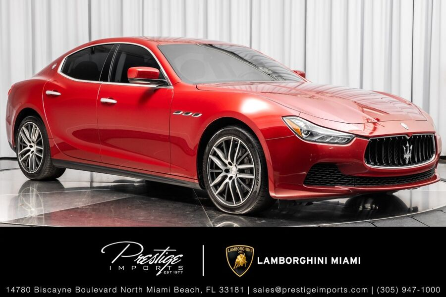 2016_Maserati_Ghibli__ North Miami FL