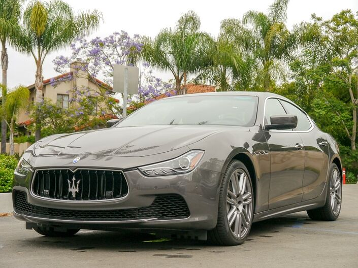 2016 Maserati Ghibli Base City of Industry CA