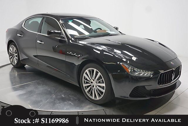 2016 Maserati Ghibli NAV,CAM,SUNROOF,HTD STS,19IN WHLS Plano TX