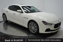 Maserati Ghibli NAV,CAM,SUNROOF,HTD STS,19IN WLS,HID LIGHTS 2016