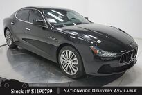 Maserati Ghibli S NAV,CAM,SUNROOF,HTD STS,19IN WLS,HID LIGHTS 2016