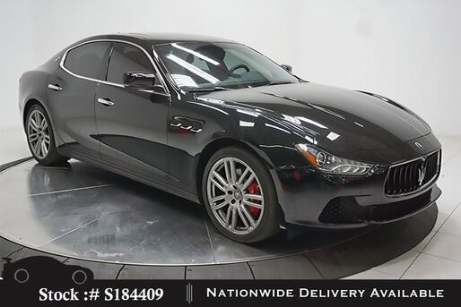2016_Maserati_Ghibli_S NAV,CAM,SUNROOF,HTD STS,20IN WLS,HID LIGHTS_ Plano TX