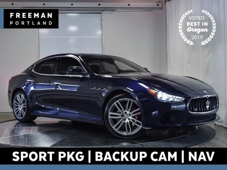 2016_Maserati_Ghibli_S Q4 AWD Sport Nav Back-Up Camera Heated Seats_ Portland OR