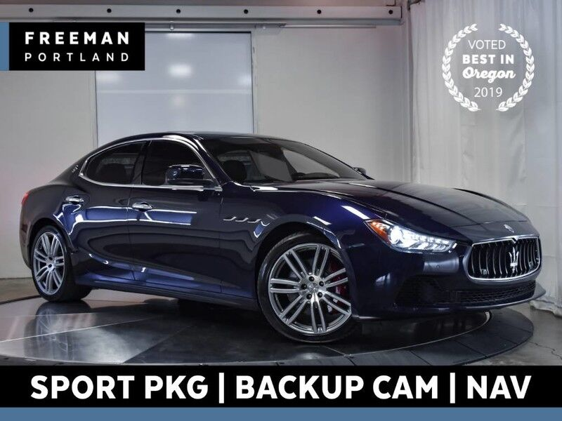 2016 Maserati Ghibli S Q4 AWD Sport Nav Back-Up Camera Heated Seats Portland OR