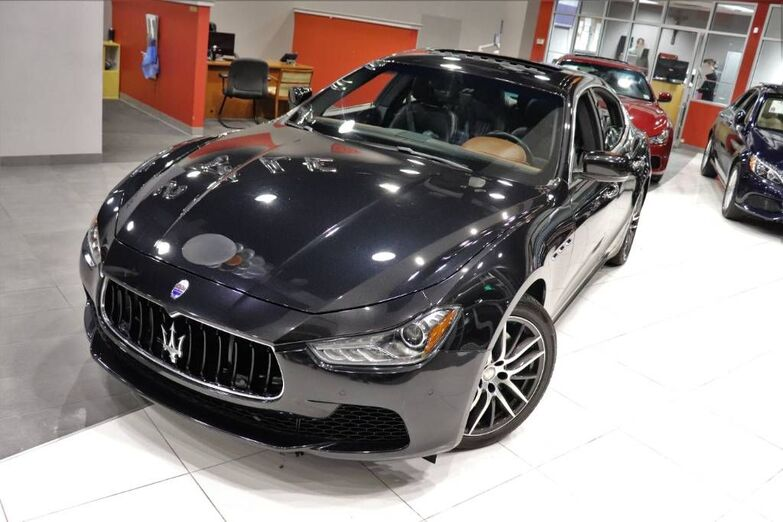 2016 Maserati Ghibli S Q4 Navigation Sunroof 1 Owner Springfield NJ