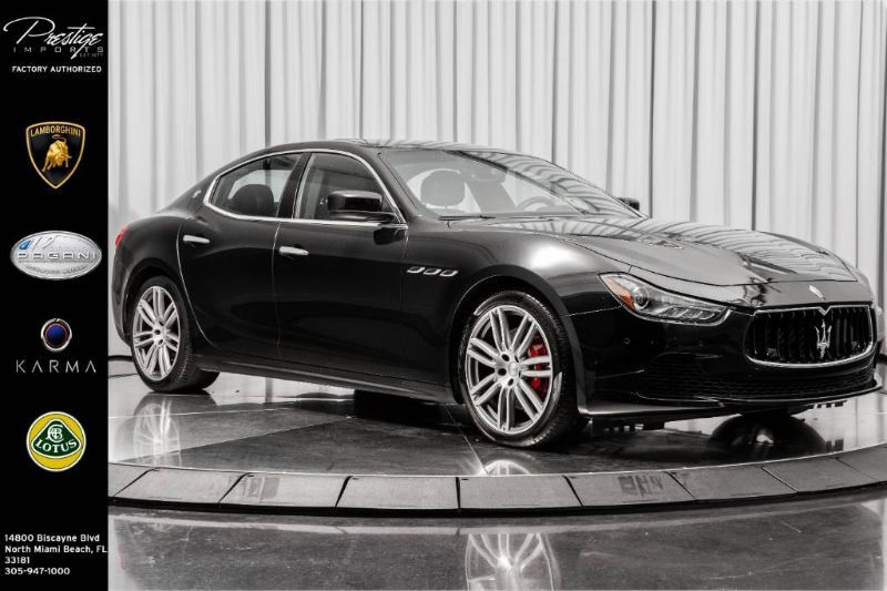 2016_Maserati_Ghibli_S Q4_ North Miami Beach FL