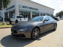 2016_Maserati_Ghibli_SQ4 LEATHER, SUNROOF, BACKUP CAMERA, BLUETOOTH, NAVIGATION, KEYLESS START CLIMATE CONTROL_ Plano TX