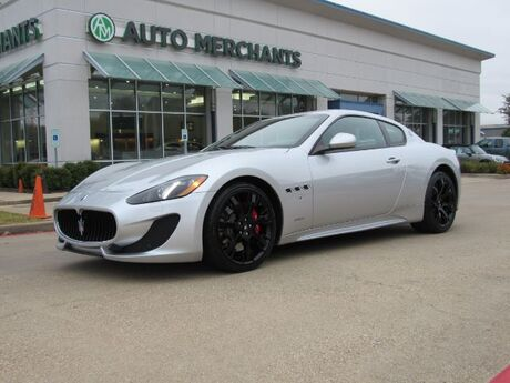 2016 Maserati GranTurismo Sport Coupe, NAVIGATION, LEATHER/SUEDE INTERIOR, PADDLE SHIFTERS, HEATED SEATS, BLUETOOTH Plano TX