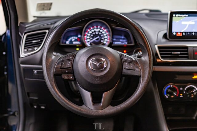 2016 Mazda 3 GX Hatchback Nav BCam Red Deer AB