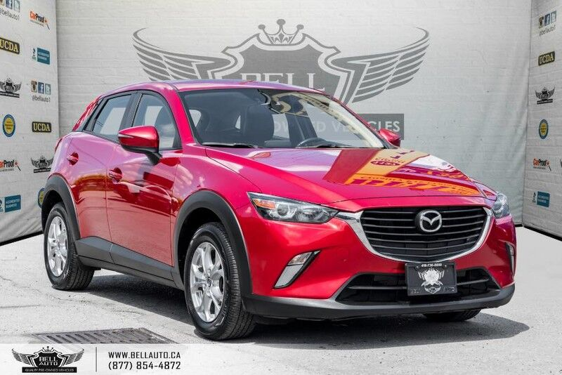 2016 Mazda CX-3 GS, BACK-UP CAM, SUNROOF, LEATHER, PUSH START, ALLOY