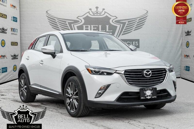 2016 Mazda CX-3 GT AWD HEADS-UP DISPLAY NAVIGATION LEATHER SUNROOF PADDLE SHIFTER