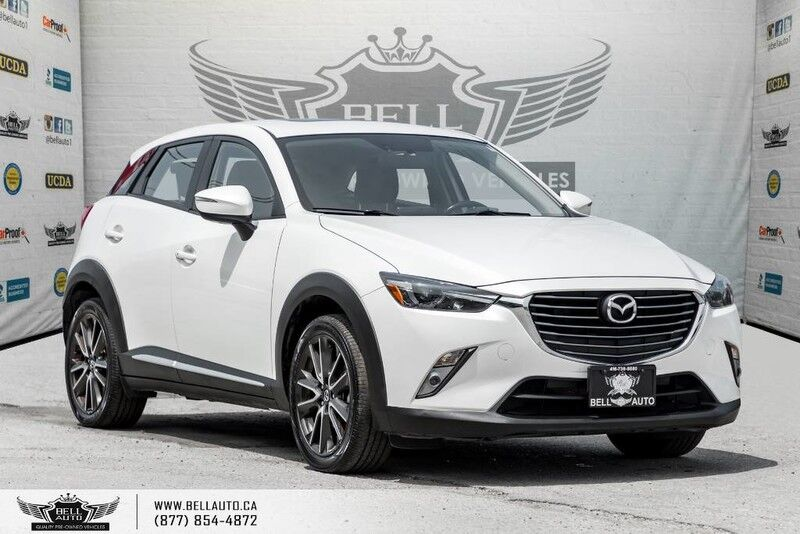 2016 Mazda CX-3 GT, AWD, NAVI, BACK-UP CAM, SUNROOF, HEADS-UP DIS