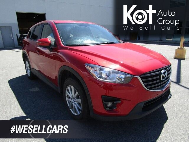 2016 Mazda CX-5 GS! NAVIGATION! SUNROOF! LANE ASSIST! BACKUP CAM! HEATED SEATS! 1 OWNER! LOCAL UNIT! NO ACCIDENTS! Kelowna BC