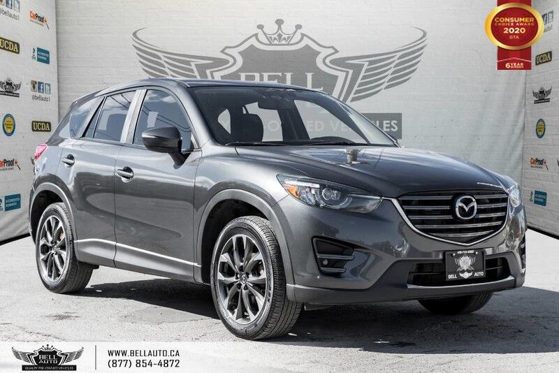 2016 Mazda CX-5 GT, AWD, NAVI, BACK-UP CAM, SUNROOF, BLINDSPOT