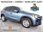 2016 Mazda CX-5 Touring *NAVIGATION, BLIND SPOT ALERT, BACKUP-CAMERA, TOUCH SCREEN, HEATED SEATS, KEYLESS ENTRY/START/STOP, CRUISE CONTROL, BLUETOOTH PHONE & AUDIO