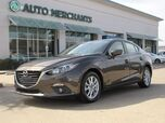 2016 Mazda MAZDA3 Touring AT 4-Door 2.0L 4CYL AUTOMATIC, BLUETOOTH CONNECTION, SUNROOF,  BLIND SPOT MONITOR