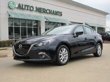 2016_Mazda_MAZDA3_i Grand Touring MT 4-Door LEATHER, NAVIGATION, SUNROOF, PREMIUM STEREO, HTD FRONT STS, BLUETOOTH_ Plano TX