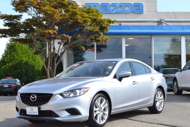 2016 Mazda MAZDA6 Touring Moonroof and Bose w/ Navigation Lowell MA